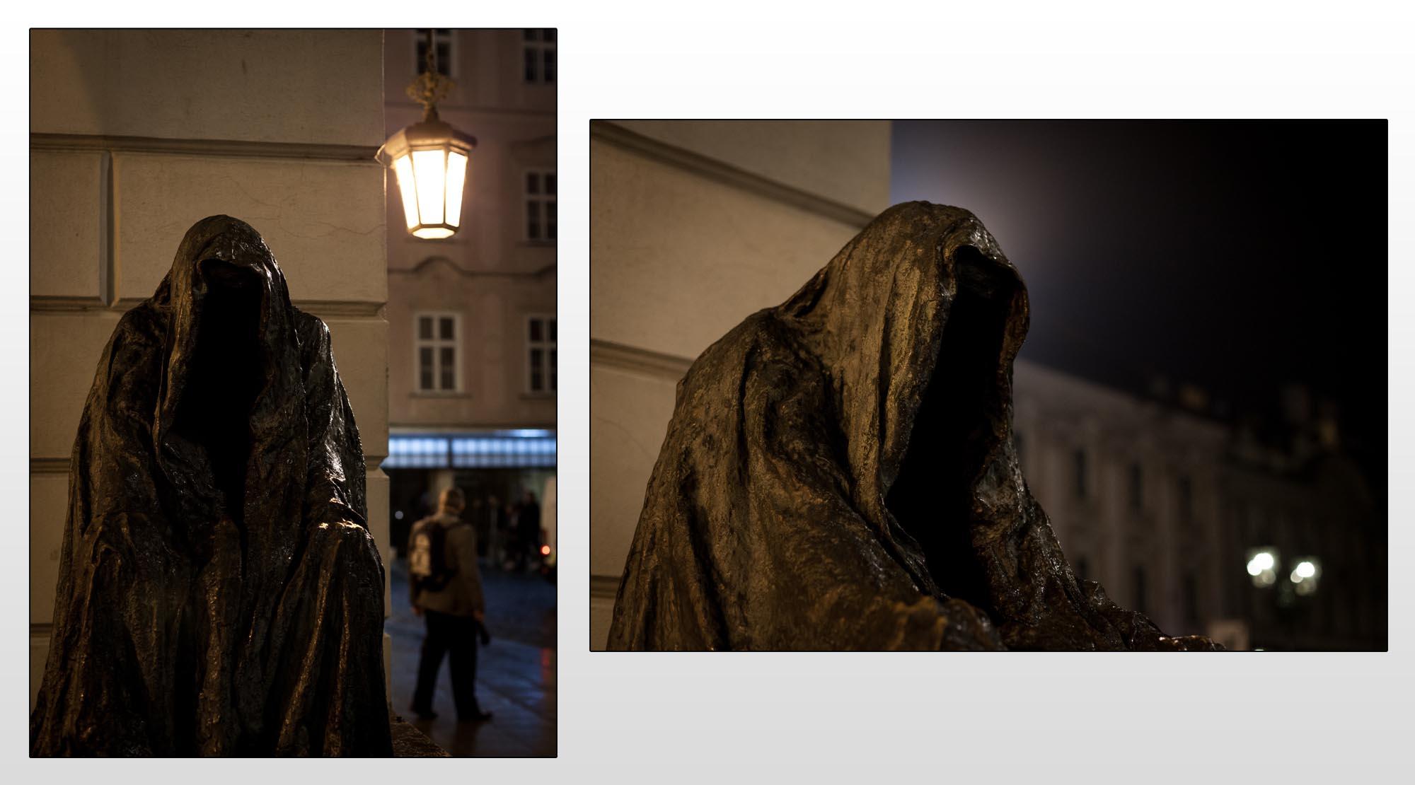 Statue-in-Prag---Bildwirkung-und-Perspektive-Beispiel