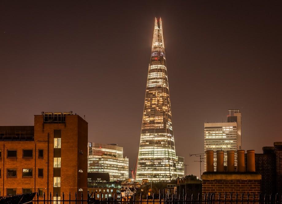 richtig-fotografiert.de - Langzeitbelichtung Shard Tower London